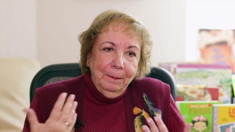 A editora estadounidense nacida en Galicia Teresa Mlawer