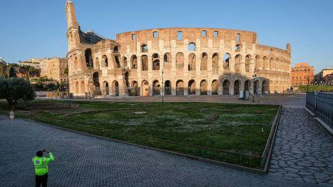 Alrededores del Coliseo romano