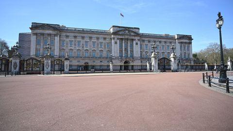 El Palacio de Buckingham en Londres.