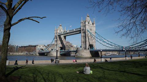 El puente de las Torres, en Londres.