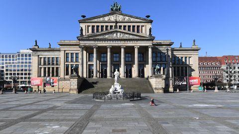 Plaza de Gendarmenmarkt, en Berlín.