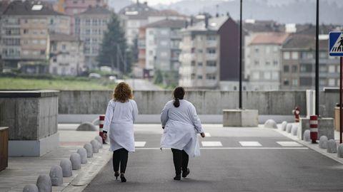 Imagen del exterior del CHUO, en Ourense