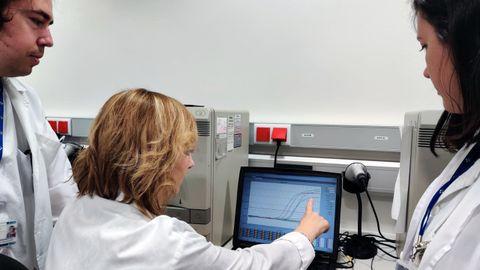 Analítica de coronavirus realizada en el laboratorio de Virología del HUCA
