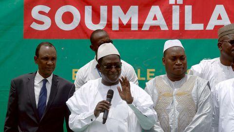 Soumaila Cissé fue el segundo candidato más votado en las presidenciales del 2013 y el 2018