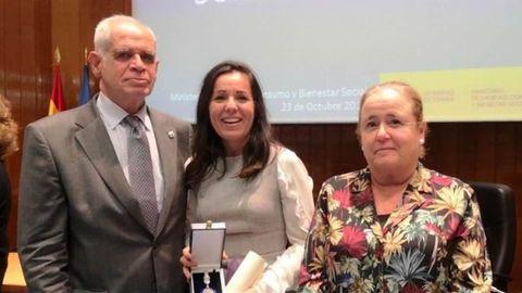 EL Fiscal Jefe Antidroga, José Ramón Noreña; Macarena Arroyo Marín, Fiscal Delegada Antidroga del Campo de Gibraltar; .y Cristina Toro, Fiscal de la Fiscalía Antidroga