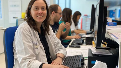 Myriam Iglesias, médico coordinadora del equipo que realiza el seguimiento a los pacientes de COVID-19 que están en sus domicilios.