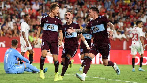 311 - Sevilla-Celta (1-1) el 30 de agosto del 2019