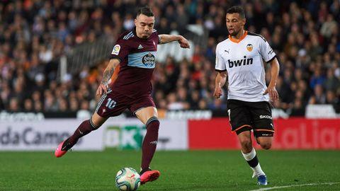 331 - Valencia-Celta (1-0) el 1 de febrero del 2020