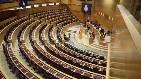Pleno telemático del Senado