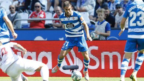 SALVA RUIZ. 2022. Firmó por el Dépor tres años tras desvincularse del Valencia