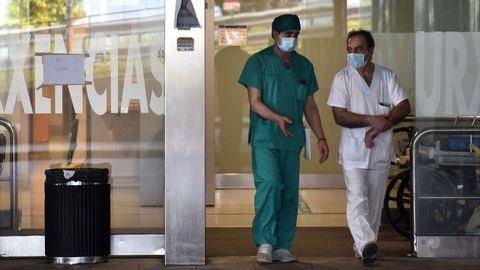 Los sanitarios han sido uno de los colectivos más golpeados por el covid-19