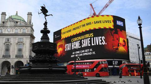 En Londres se pide a los británicos permanecer en sus casas