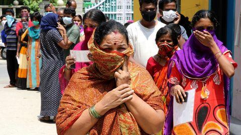 La India ha definido 20 puntos calientes que permanecerán confinados