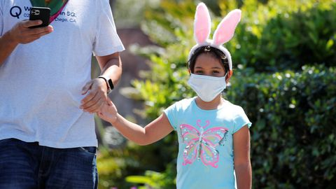 Estados Unidos, como el resto del mundo, está viviendo una Pascua diferente