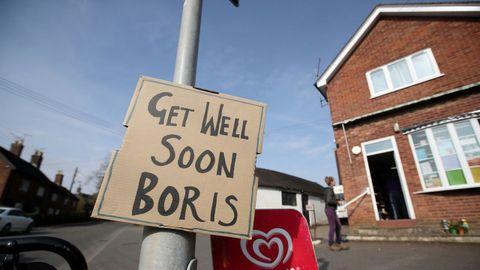 Boris Johnson se recupera favorablemente