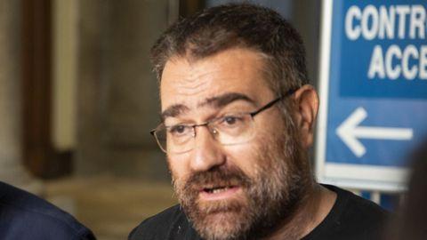 Bernardo Varela, portavoz del BNG en la Diputación de Ourense