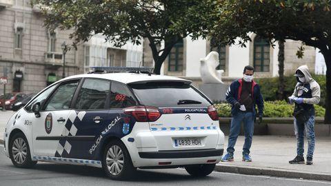 Policía Local Coruña