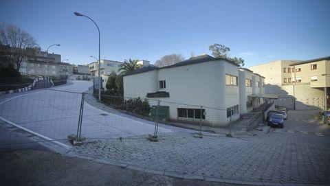 CAPD de A Coruña, antiguo colegio Santiago Apóstol