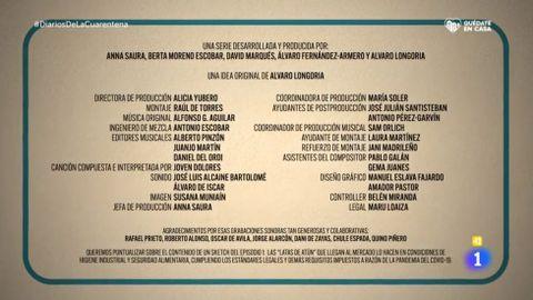 El texto de rectificación se incorporó al final de los créditos en el segundo programa