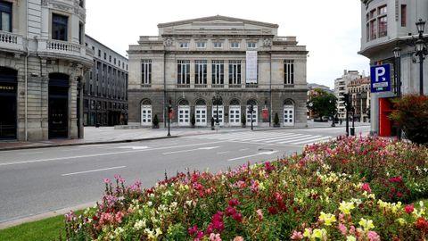 Vista del entorno del Teatro Campoamor