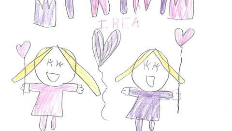 Los dibujos de Irea para Trini