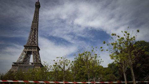 La Torre Eiffel está cerrada al público desde el 13 de marzo