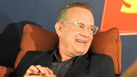 Tom Hanks regaló una antigua máquina de escribir al niño australiano