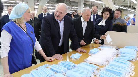 El presidente de Bielorrusia dice que en su país nadie ha muerto por covid-19