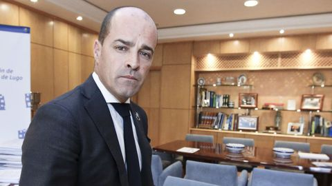 Jaime López, máximo responsable de la Confederación de Empresarios de Lugo