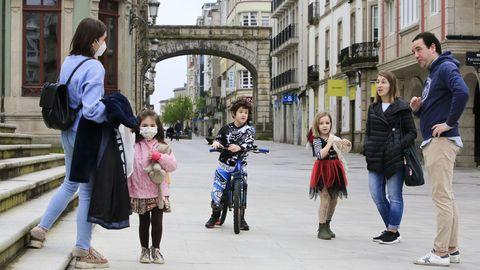 Salida de los menores en Lugo