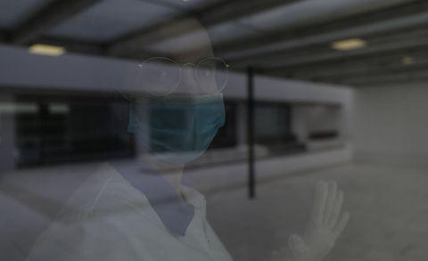 Cristina Franco es enfermera en Padre Rubinos