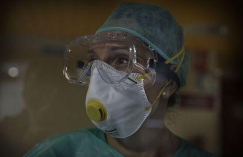 Mónica Pérez Taboada es la supervisora de una de las primeras plantas que el Chuac dedicó al covid-19 cuando arreció la pandemia