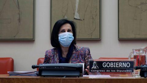 Margarita Robles, en la Comisión de Defensa del Congreso