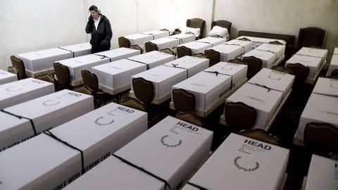 Funerarias neoyorkinas están recurriendo a ataúdes de cartón para las cremaciones