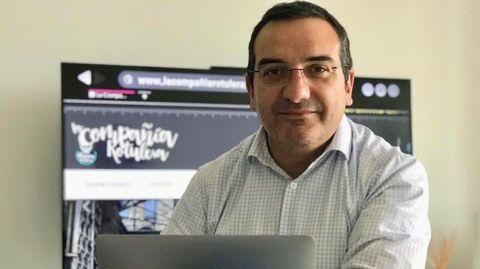 Alberto García, asturiano afincado en A Mariña y gerente del grupo Futures