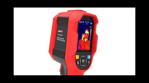 Este es el medidor de temperatura con cámara térmica que se utilizará en las instalaciones municipales de Sober