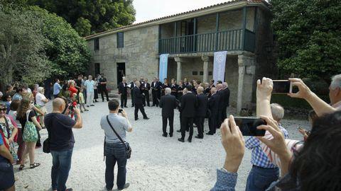 La casa de Rosalía fue uno de los museos que participó en la reunión de este miércoles