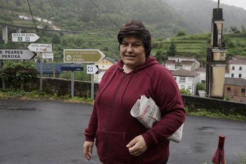 Patricia Rodríguez, propietaria del Bar Xugo en el municipio lucense de Carballedo