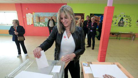 La diputada del PSOE por Lugo Ana Prieto