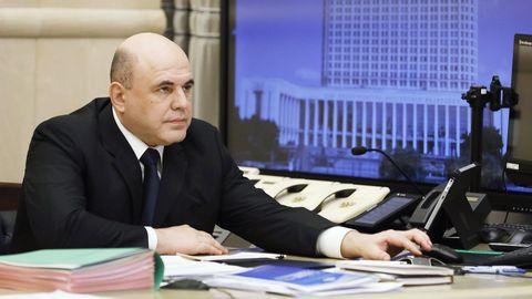 Mijaíl Mishustin, primer ministro ruso