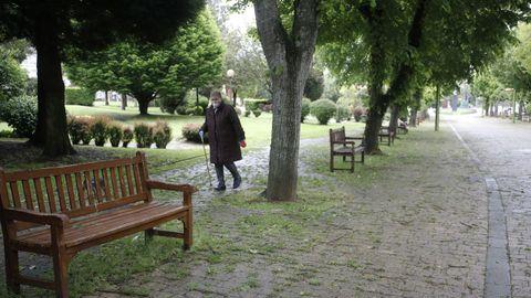 Parques y jardines siguen abiertos en Lugo