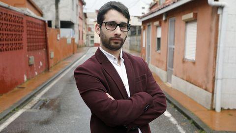 José Alberto Cerdeira, uno de los jóvenes afectados