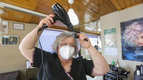 La reapertura de las peluquerías, entre lo más demandado, se realizó con cita previa