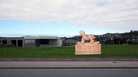LABoral Centro de Arte y Creación Industrial, en Gijón.