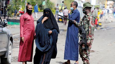 En Nairobi el gobierno ha tenido que cerrar algunos distritos