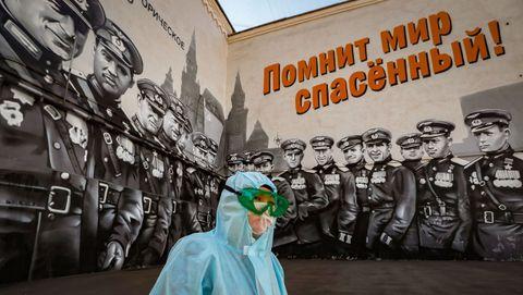 El alcalde de Moscú calcula que en la ciudad hay 300.000 contagiados, cuando la cifra oficial para todo Rusia es de 177.000 casos confirmados