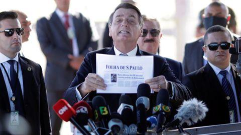 Bolsonaro ha anunciado que el domingo hará una barbacoa en casa para 30 personas