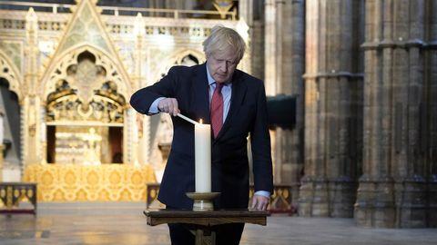 Johnson pidió a los británicos que se queden en casa y respeten el distanciamiento social
