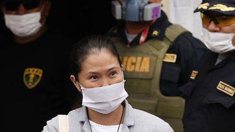 La familia de Fujimori ha pedido su liberación