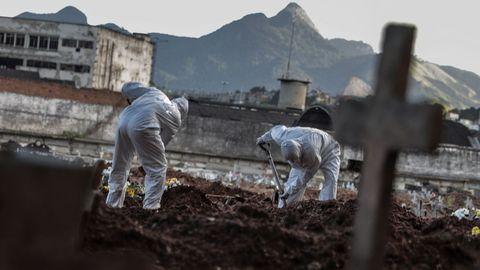 Brasil está siendo el país más castigado por el coronavirus en América del Sur